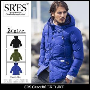 エスアールエス SRES ジャケット メンズ グレースフル EX D(SRS Graceful EX D JKT 中綿ジャケット ウター ブルゾン)|icefield