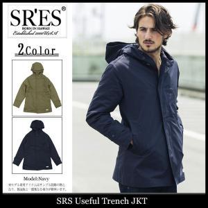 エスアールエス SRES ジャケット メンズ ユースフル トレンチ(SRS Useful Trench JKT トレンチコート アウター ブルゾン)|icefield