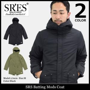 エスアールエス SRES ジャケット メンズ バッティング モッズ コート(SRS Batting Mods Coat モッズパーカー アウター JKT00649)|icefield