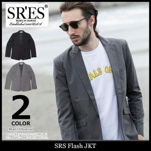 エスアールエス SRES ジャケット メンズ フラッシュ(SRS Flash JKT テーラードジャケット セットアップ可 アウター ブルゾン)|icefield