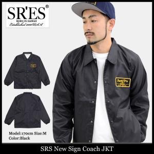 エスアールエス SRES ジャケット メンズ ニュー サイン コーチジャケット(SRS New Sign Coach JKT ナイロンジャケット アウター)|icefield