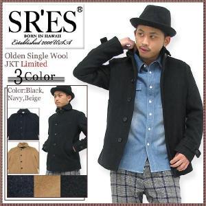 エスアールエス SRES オールデン シングル ウール ジャケット リミテッド(SRS Olden Single Wool JKT Limited) icefield