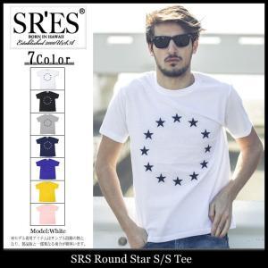 エスアールエス SRES Tシャツ 半袖 メンズ ラウンド スター(SRS Round Star S/S Tee カットソー トップス)|icefield