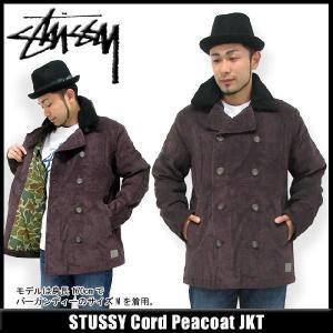 ステューシー STUSSY Cord Peacoat ジャケット(stussy jkt Pコート メンズ 男性用 015954) icefield