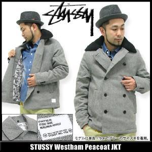 ステューシー STUSSY Westham Peacoat ジャケット(stussy JKT JACKET JAKET アウター Stussy メンズ 015979) icefield