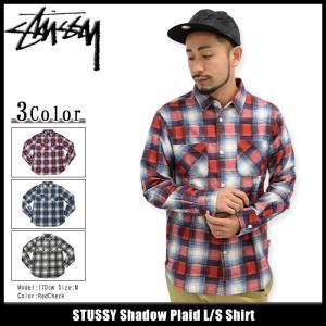 ステューシー STUSSY シャツ 長袖 メンズ Shadow Plaid(stussy shirt カジュアルシャツ トップス 男性用 111892)|icefield