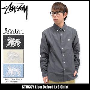 ステューシー STUSSY シャツ 長袖 メンズ Lion Oxford(stussy shirt カジュアルシャツ トップス 男性用 111895)|icefield