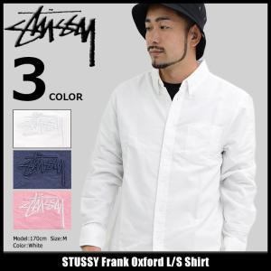 ステューシー STUSSY シャツ 長袖 メンズ Frank Oxford(stussy shirt ボタンダウンシャツ カジュアルシャツ トップス 男性用 111939)