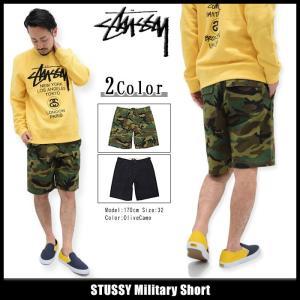 ステューシー STUSSY ハーフパンツ メンズ Military(stussy short pant ショートパンツ ボトムス メンズ・男性用 112180)|icefield