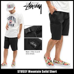 ステューシー STUSSY ハーフパンツ メンズ Mountain Solid(stussy short pant クライミングショーツ ボトムス 男性用 112194)|icefield