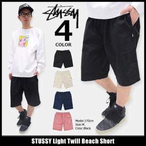 ステューシー STUSSY ハーフパンツ メンズ Light Twill Beach(stussy short pant ショーツ ボトムス 男性用 112196)|icefield
