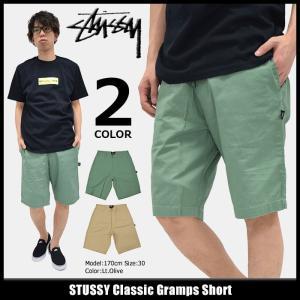 ステューシー STUSSY ハーフパンツ メンズ Classic Gramps(stussy short pant ショートパンツ ボトムス 男性用 112197)|icefield