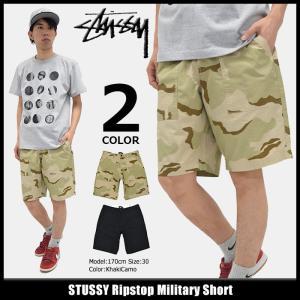 ステューシー STUSSY ハーフパンツ メンズ Ripstop Military(stussy short pant ショートパンツ ボトムス 男性用 112201)|icefield
