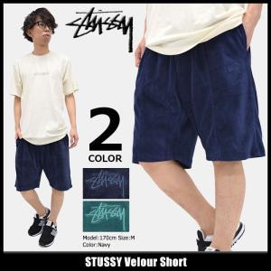 ステューシー STUSSY ハーフパンツ メンズ Velour(stussy short pant ショートパンツ ボトムス 男性用 112205)|icefield