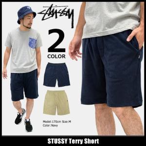 ステューシー STUSSY ハーフパンツ メンズ Terry(stussy short pant  ショートパンツ ボトムス 男性用 112210)|icefield