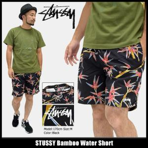 ステューシー STUSSY ハーフパンツ メンズ Bamboo Water(stussy short trunk トランク 水着 スイムウェア ボトムス 男性用 113095)|icefield