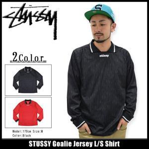 ステューシー STUSSY シャツ 長袖 メンズ Goalie Jersey(stussy shirt サッカーシャツ ゲームシャツ トップス メンズ・男性用 114837)|icefield