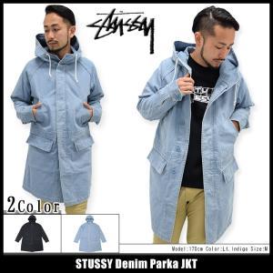 ステューシー STUSSY ジャケット メンズ Denim Parka(stussy JKT デニム アウター ブルゾン 男性用 115301)|icefield