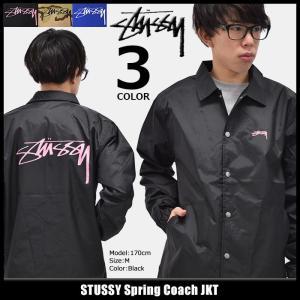 ステューシー STUSSY ジャケット メンズ Spring Coach(stussy JKT ナイロンジャケット コーチジャケット アウター ブルゾン 男性用 115332)|icefield
