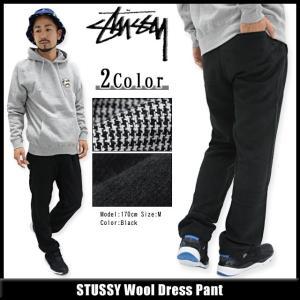ステューシー STUSSY パンツ メンズ Wool Dress(stussy pant ボトムス メンズ・男性用 116244)|icefield