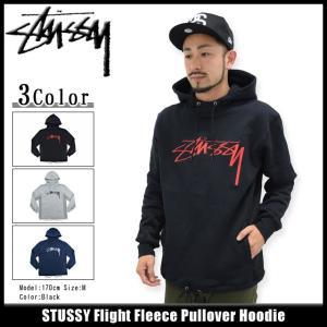 ステューシー STUSSY プルオーバー パーカー メンズ Flight Fleece(stussy Pullover Hoodie メンズ トップス メンズ 男性用 118137)|icefield