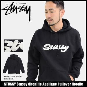 ステューシー STUSSY プルオーバー パーカー メンズ Stussy Chenille Applique(stussy Pullover Hoodie トップス 男性用 118254)|icefield