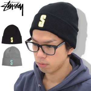 ステューシー STUSSY ニット帽 Vintage S Cuff(stussy beanie ビーニー 帽子 ニットキャップ 男性用 132818)|icefield