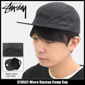ステューシー STUSSY キャップ 帽子 Micro Ripstop Camp Cap(キャンプキャップ メンズ・男性用 132867)|icefield