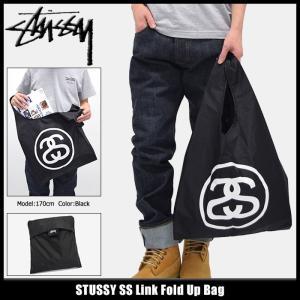 ステューシー STUSSY トートバッグ SS Link Fold Up(stussy tote bag エコバッグ ショッパートート メンズ レディース 134164 小物)|icefield