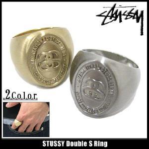ステューシー STUSSY Double S リング(stussy ring 指輪 メンズ 138265)|icefield