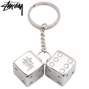 ステューシー キーホルダー STUSSY Metal Dice ( stussy keychain ...
