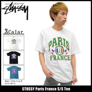ステューシー STUSSY Tシャツ メンズ Paris France 1903857|icefield