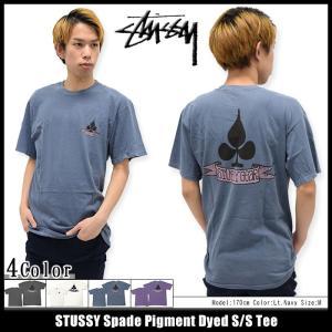 ステューシー STUSSY Tシャツ メンズ Spade Pigment Dyed 1903879|icefield