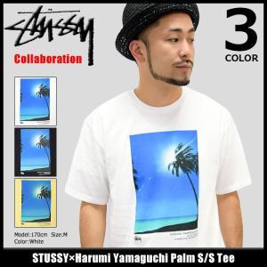 ステューシー STUSSY Tシャツ メンズ Harumi Yamaguchi Palm コラボ 1904098|icefield