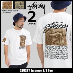 ステューシー STUSSY Tシャツ メンズ Emperor 1904107|icefield