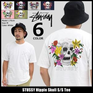 ステューシー STUSSY Tシャツ メンズ Hippie Skull 1904109|icefield