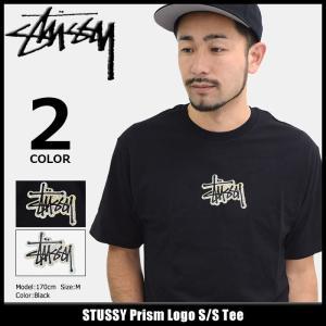 ステューシー STUSSY Tシャツ メンズ Prism Logo 1904117 icefield