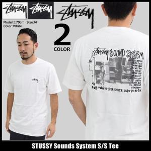 ステューシー STUSSY Tシャツ メンズ Sounds System 1904119|icefield