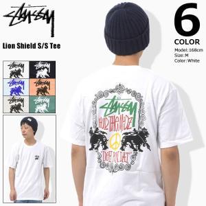 ステューシー STUSSY Tシャツ メンズ Lion Shield 1904188