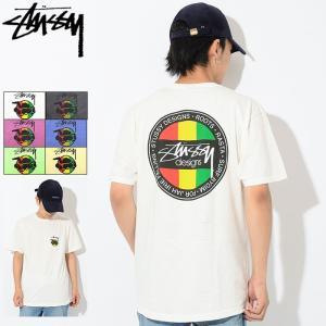 ステューシー STUSSY Tシャツ メンズ Rasta SK8 Pigment Dyed 1904239 USAモデル 正規 (ピグメント)
