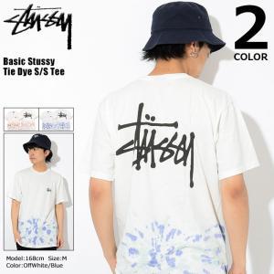ステューシー STUSSY Tシャツ メンズ Basic Stussy Tie Dye 1904251 USAモデル 正規 (ベーシック タイダイ)