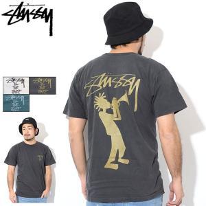 ステューシー Tシャツ 半袖 STUSSY メンズ All That Jazz Pigment Dyed(stussy tシャツ tee ピグメント カットソー 1904308 USAモデル 正規)