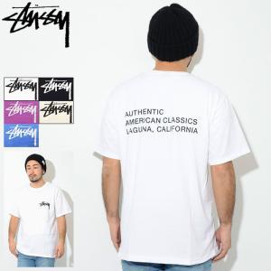 ステューシー Tシャツ 半袖 STUSSY メンズ American Classics(stussy...