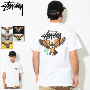 ステューシー Tシャツ 半袖 STUSSY メンズ Eagle(stussy tee T-SHIRT...