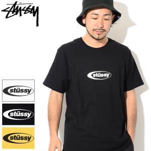 ステューシー Tシャツ 半袖 STUSSY メンズ Eclipse(stussy tee T-SHI...