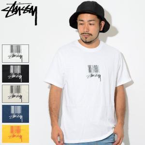 ステューシー Tシャツ 半袖 STUSSY メンズ Barcode(stussy tee T-SHI...