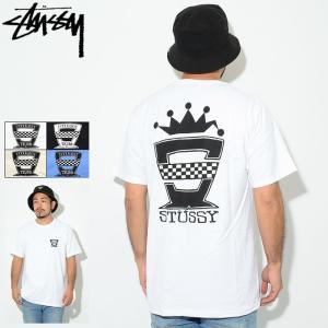ステューシー Tシャツ 半袖 STUSSY メンズ Checkers(stussy tee T-SH...