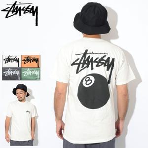 ステューシー Tシャツ 半袖 STUSSY メンズ 8 Ball Pigment Dyed(stus...