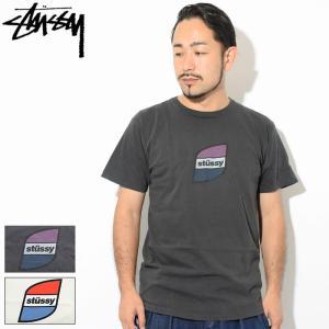 ステューシー Tシャツ 半袖 STUSSY メンズ Stripes Pigment Dyed(stu...