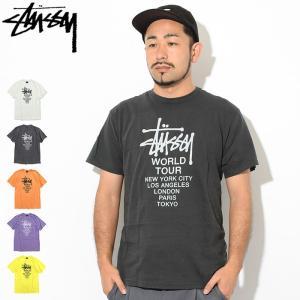 ステューシー Tシャツ 半袖 STUSSY メンズ Tour Pigment Dyed(stussy...